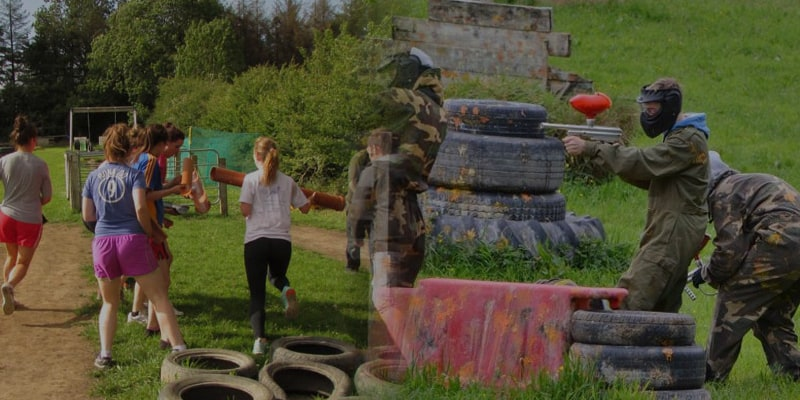 Paintball & Assault Course Package