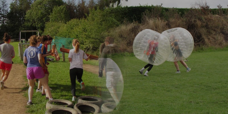 Youth Cube Games & Bubble Football Package
