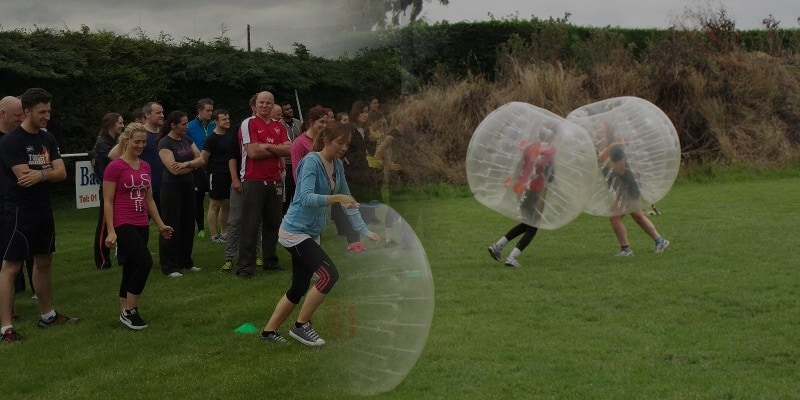 Adults Sports Day & Bubble Football Package