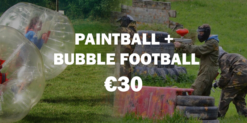 Bubble + pAINTBALL Package kIDS