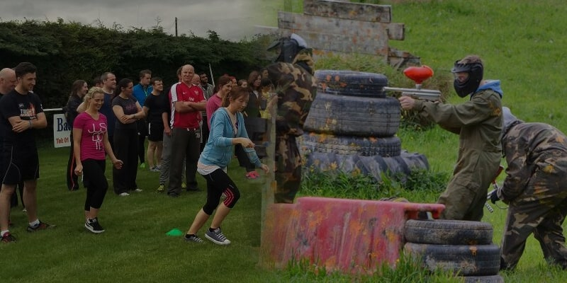 Adults Sports Day & Paintball Package