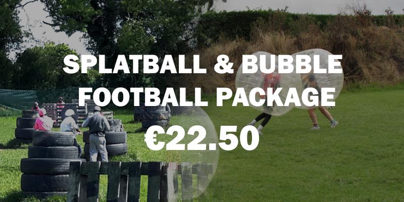 Splatball + Bubble Package Kids